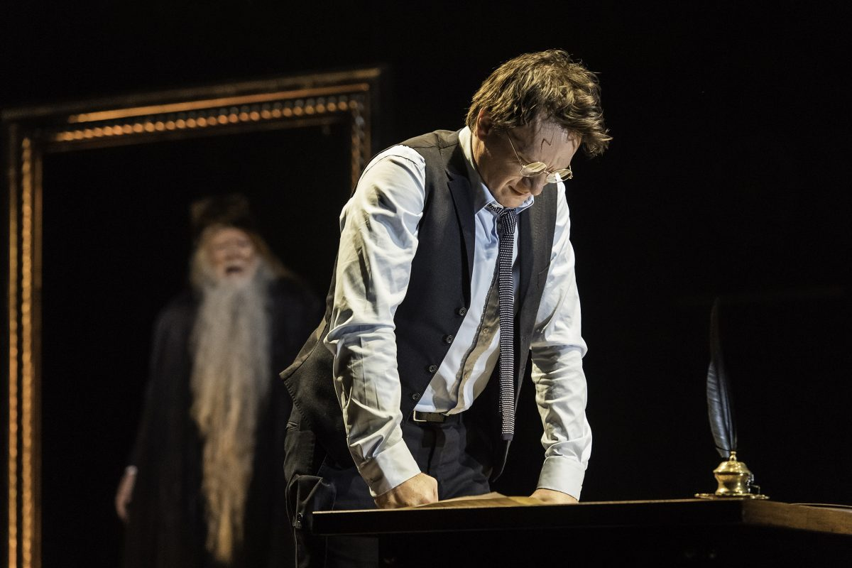 Harry Potter and The Cursed Child - Harry i Dumbledore