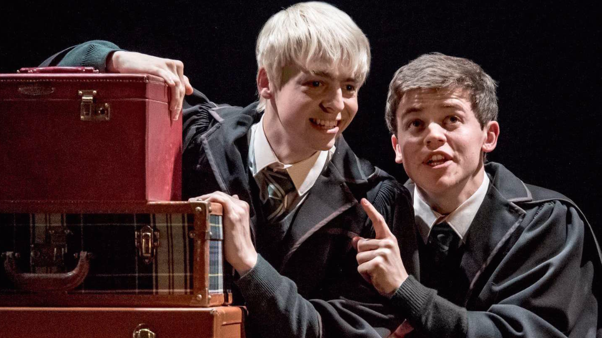 Harry Potter and The Cursed Child - Albus i Scorpius 2