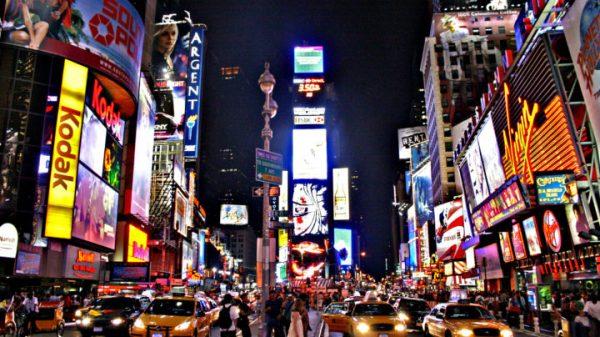 Times Square - Stany POPświadomości