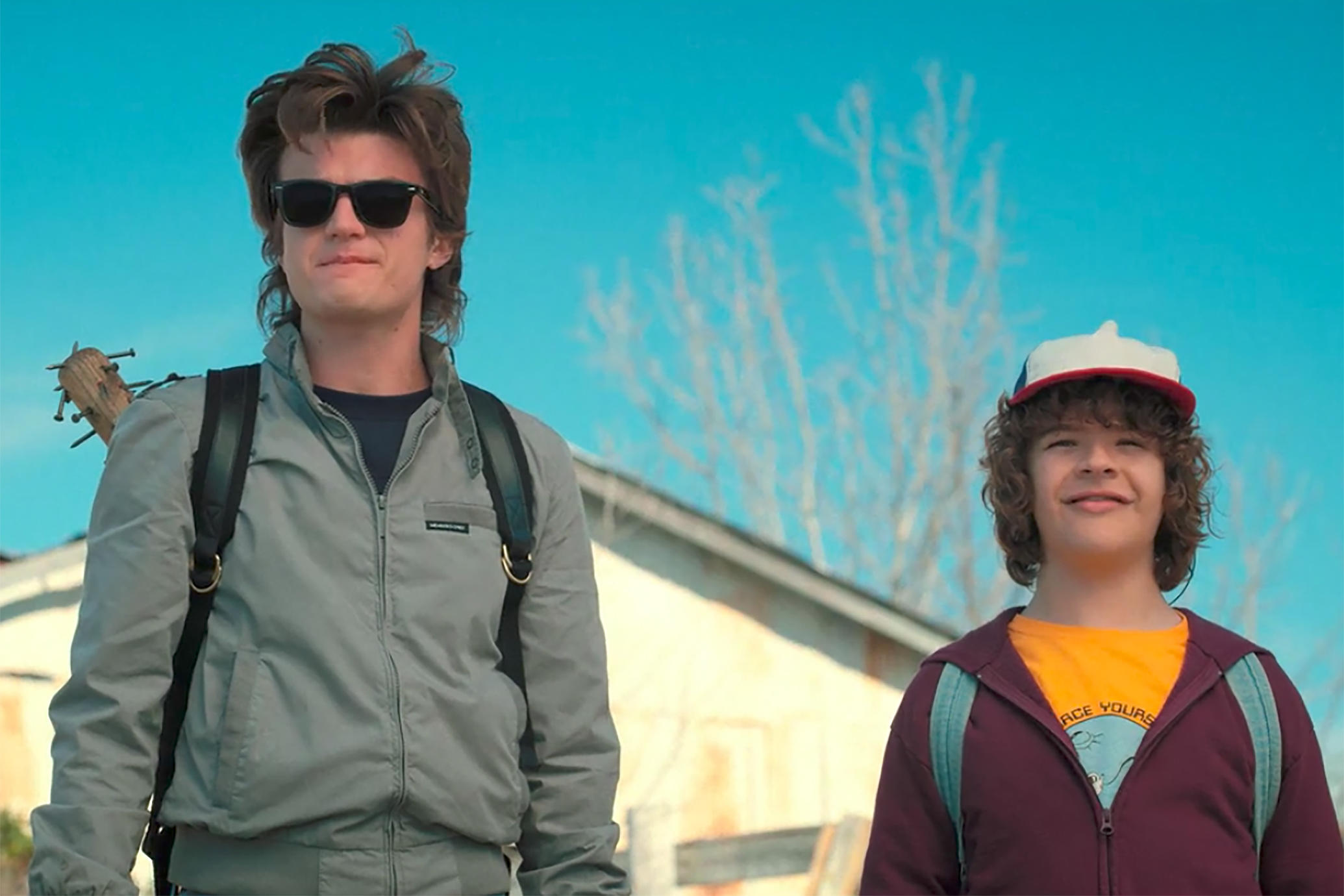 Stranger Things 2 recenzja Dustin Steve