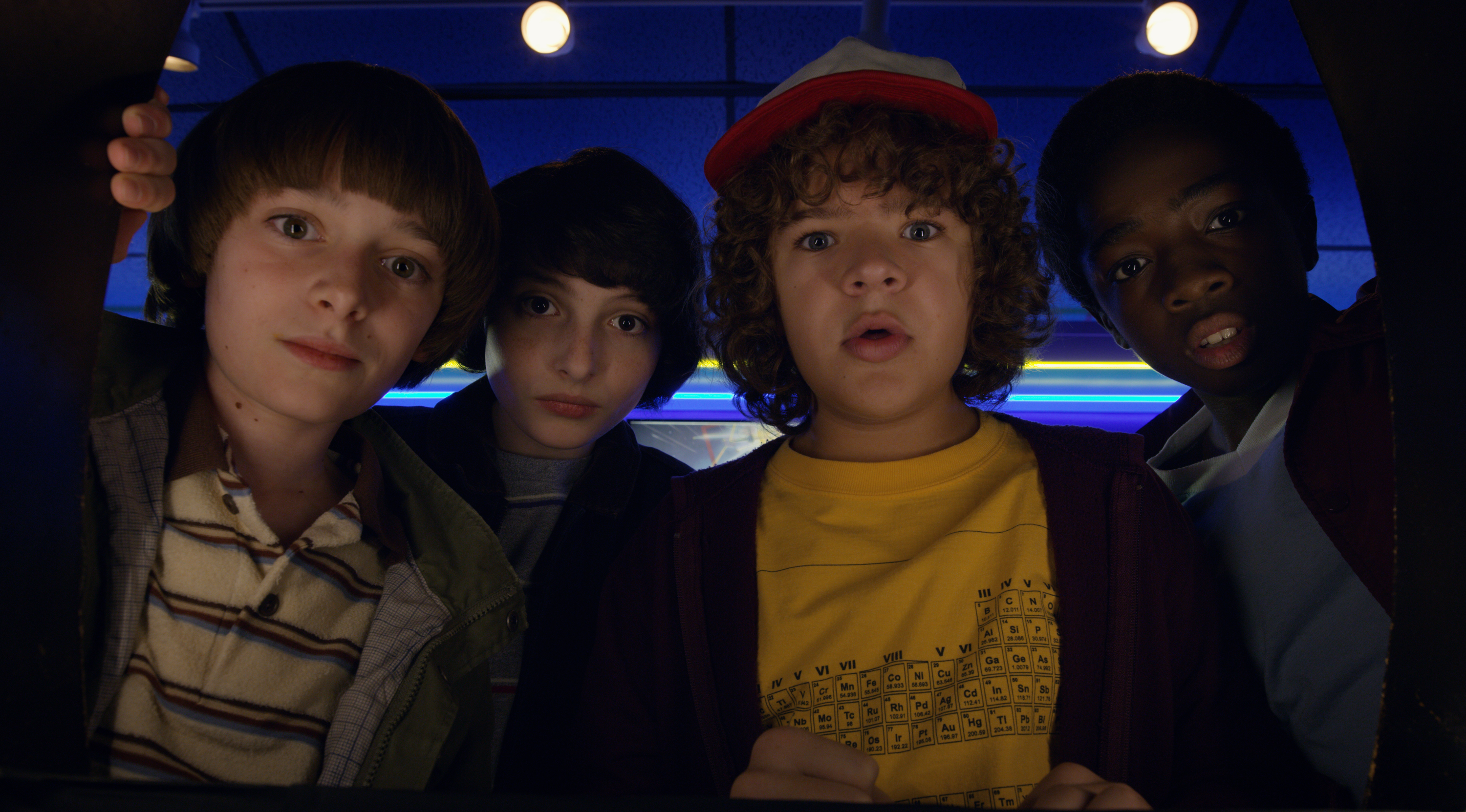Stranger Things 2 recenzja Lucas Dustin Mike Will